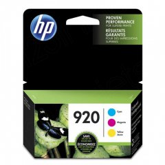 HP N9H55FN (920) Cyan, Magenta & Yellow Ink Cartridge