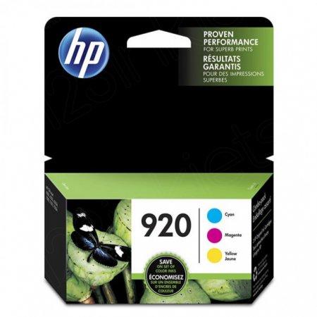HP N9H55FN (920) Cyan, Magenta & Yellow Ink Cartridge