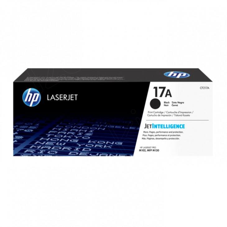 HP 17A, Hewlett Packard CF217A original black toner.