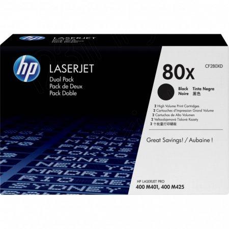 OEM HP CF280XD (80X) Toners, High Yield Black