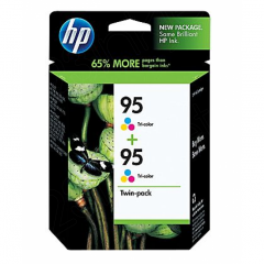 HP Original 95 Tri-Color Twin Pack