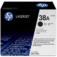 Hewlett Packard Q1338A (38A) Black Toner Cartridge