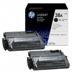 Hewlett Packard Q1338D (38A) Black Toner Cartridge