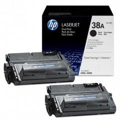 Hewlett Packard Q1338D (38A) Black Toner Cartridge