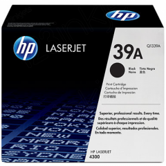 Hewlett Packard Q1339A (39A) Black Toner Cartridge
