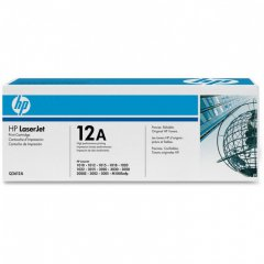Hewlett Packard Q2612A (12A) Black Toner Cartridge