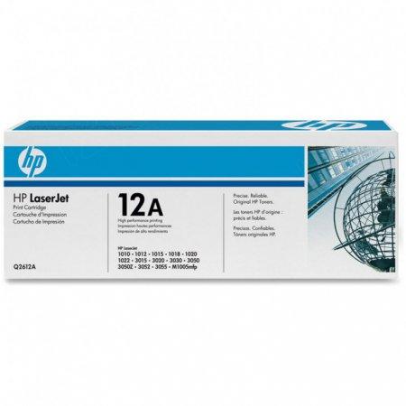 Hewlett Packard Q2612A (12A) Black Toner Cartridge