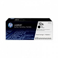 Hewlett Packard Q2612AD (12A) Black Toner Cartridge