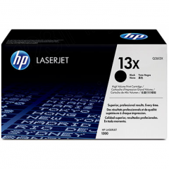 Hewlett Packard Q2613X (13X) Black Toner Cartridge