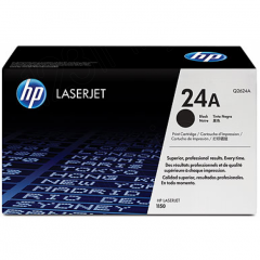 Hewlett Packard Q2624A (24A) Black Toner Cartridge