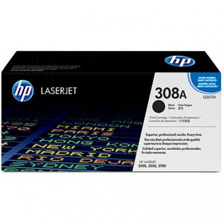 Hewlett Packard Q2670A (308A) Black Toner Cartridge