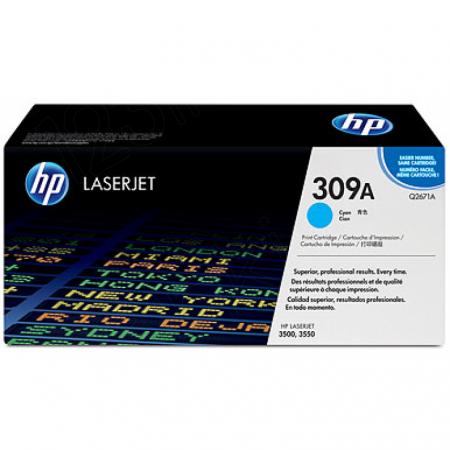 Hewlett Packard Q2671A (309A) Cyan Toner Cartridge
