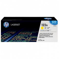 Hewlett Packard Q3962A (122A) Yellow Toner Cartridge
