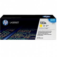Hewlett Packard Q3972A (123A) Yellow Toner Cartridge