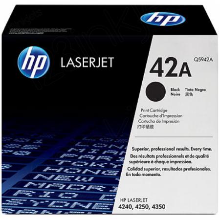 Hewlett Packard Q5942A (42A) Black Toner Cartridge