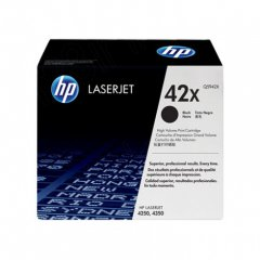 Hewlett Packard Q5942X (42X) Black Toner Cartridge
