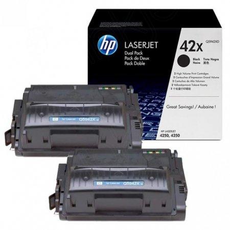 Hewlett Packard Q5942XD (42XD) Black Toner Cartridge