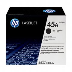 Hewlett Packard Q5945A (45A) Black Toner Cartridge