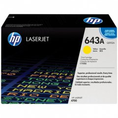 Hewlett Packard Q5952A (643A) Yellow Toner Cartridge