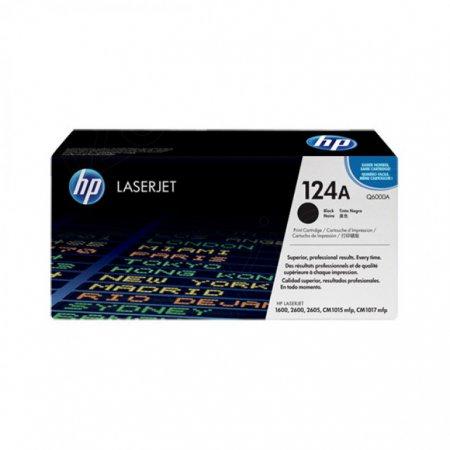 Hewlett Packard Q6000A (124A) Black Toner Cartridge
