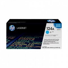 Hewlett Packard Q6001A (124A) Cyan Toner Cartridge