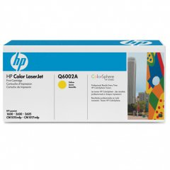 Hewlett Packard Q6002A (124A) Yellow Toner Cartridge