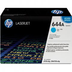 Hewlett Packard Q6461A (644A) Cyan Toner Cartridge