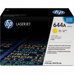 Hewlett Packard Q6462A (644A) Yellow Toner Cartridge