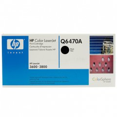 Hewlett Packard Q6470A (501A) Black Toner Cartridge