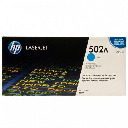 Hewlett Packard Q6471A (502A) Cyan Toner Cartridge