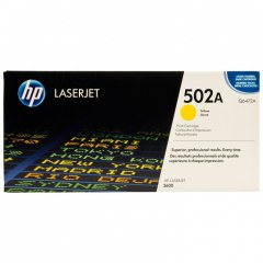 Hewlett Packard Q6472A (502A) Yellow Toner Cartridge