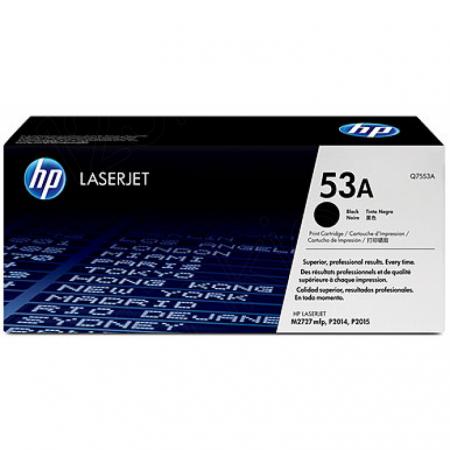 Hewlett Packard Q7553A (53A) Black Toner Cartridge
