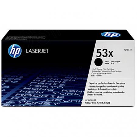 Hewlett Packard Q7553X (53X) Black Toner Cartridge