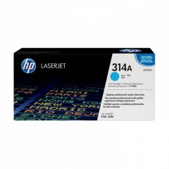 Hewlett Packard Q7561A (314A) Cyan Toner Cartridge