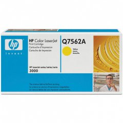 Hewlett Packard Q7562A (314A) Yellow Toner Cartridge