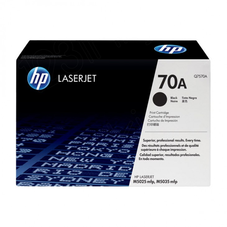 Hewlett Packard Q7570A (70A) Black Toner Cartridge