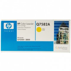 Hewlett Packard Q7582A (503A) Yellow Toner Cartridge