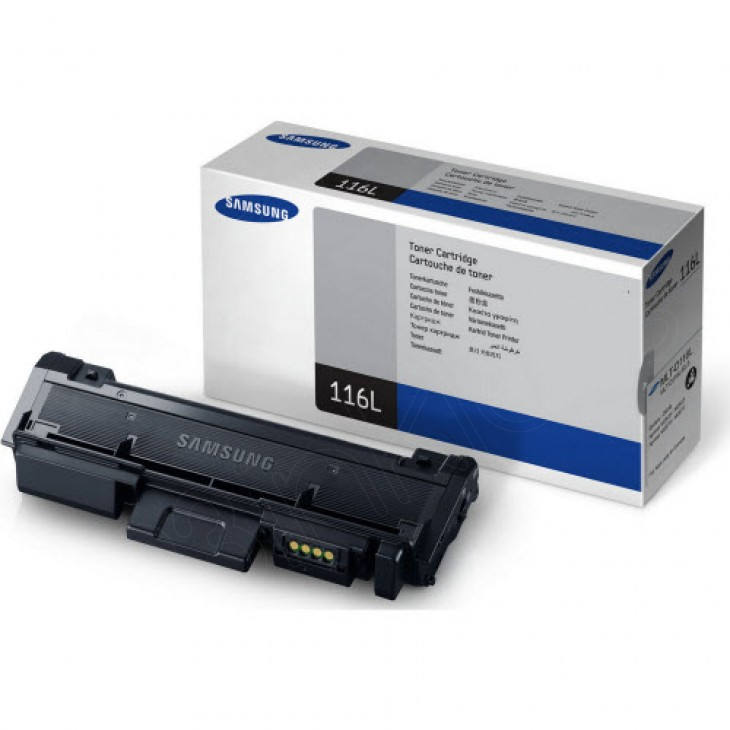 High Yield Black OEM Toner Cartridge for Samsung MLT-D116L