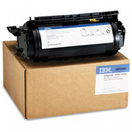 IBM 28P2494 Black OEM Toner Cartridge for Infoprint 1120/1125