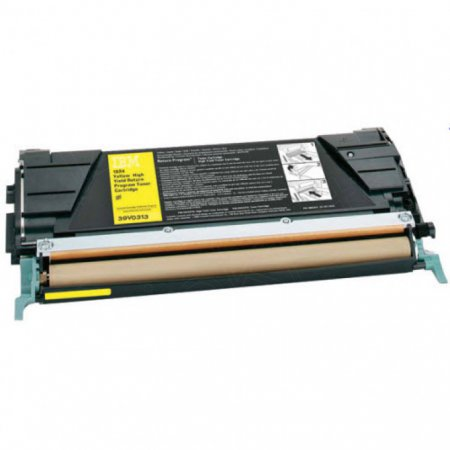 IBM 39V0313 Yellow OEM Toner Cartridge for Infoprint 1534/1634