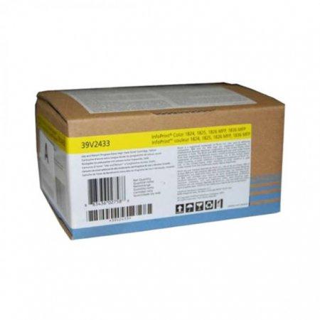IBM 39V2433 EHY Yellow OEM Laser Toner Cartridge
