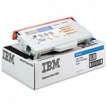 Infoprint 75P5427 Hi-Yield Cyan OEM Toner Cartridge for 1334