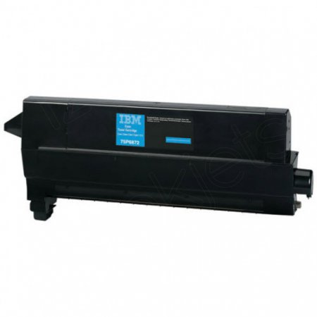 IBM 75P6872 Cyan OEM Toner Cartridge for Infoprint 1567