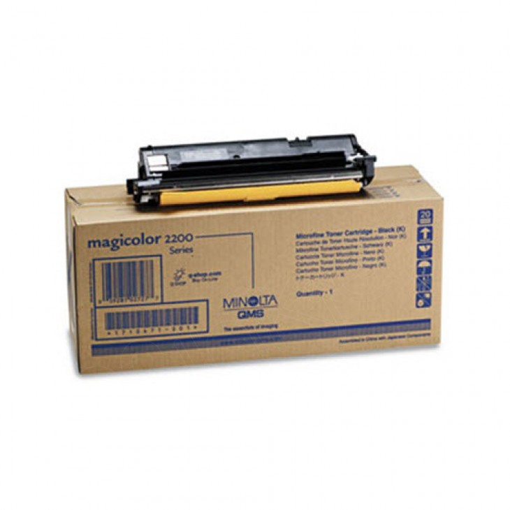 Konica Minolta 1710471-001 Black OEM Laser Toner Cartridge