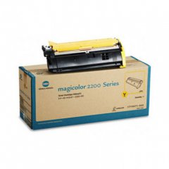 Konica Minolta 1710471-002 Yellow OEM Laser Toner Cartridge