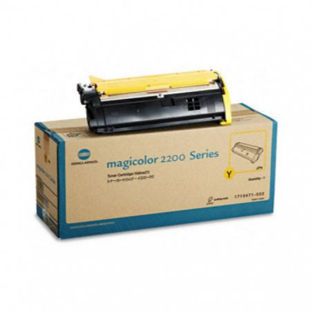 Konica Minolta 1710471-002 Yellow OEM Laser Toner Cartridge