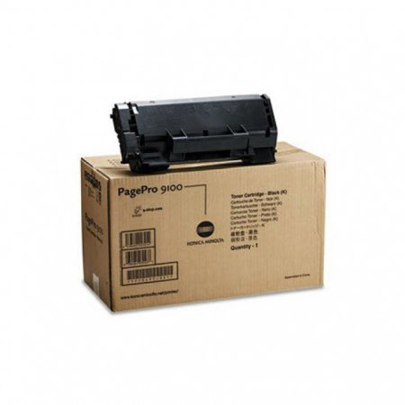 Konica Minolta 1710497-001 Black OEM Laser Toner Cartridge