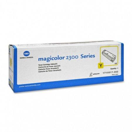 Konica Minolta 1710517-002 Yellow OEM Toner Cartridge