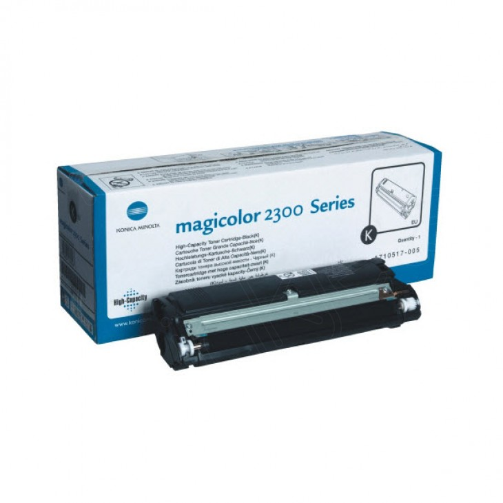 Konica Minolta 1710517-005 HY Black OEM Toner Cartridge