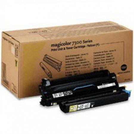Konica Minolta 1710532-002 Yellow OEM Print Unit/Toner Kit